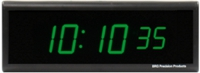 DuraTime 6 Digit Green LED Digital Clock