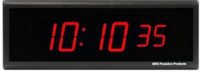 DuraTime 6 Digit Red LED Digital Clock