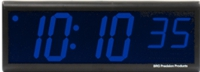 "DuraTime 6 Digit, 4"" Blue LED Digital Clock"