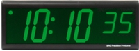 "DuraTime 6 Digit, 4"" Green LED Digital Clock"