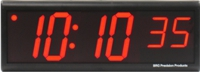 "DuraTime 6 Digit, 4"" Red LED Digital Clock"
