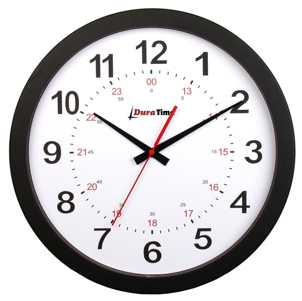 DuraTime Synchronized Analog Clock