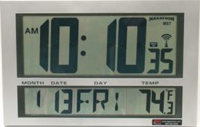 Duratime 2 4 Ghz Synchronized Digital Clocks